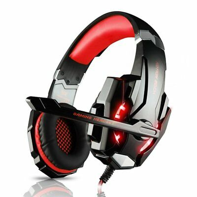 KOTION EACH G9000 Stereo Gaming Headset Best casque Deep Bass with Mic for PS4