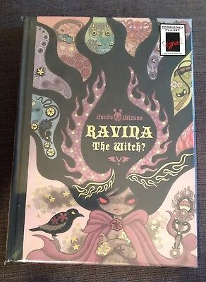New Junko Mizuno Ravina The Witch HB Graphic Novel Signed Mini Print Numbered