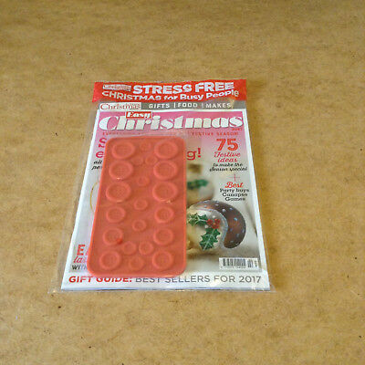 At Home Christmas Easy Christmas Silicon Button Mould Festive Ideas Recipes