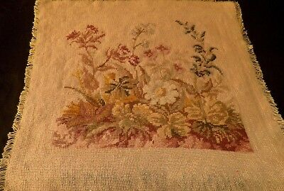 Stunning Vintage Hand Worked Tapestry Panel