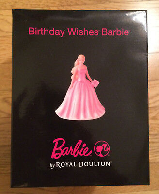 Royal Doulton Barbie Birthday Wishes Figurine HN5532 Limited Edition