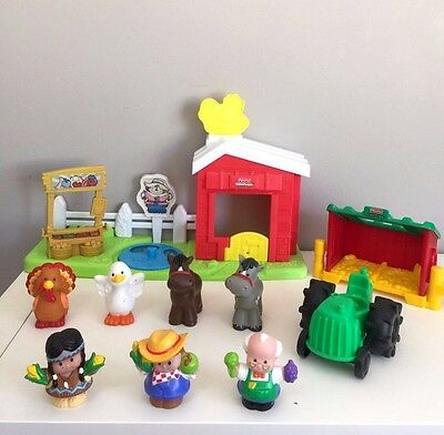 Fisher Price Little People Farm Stall Barn Playset Boys Girls Toy