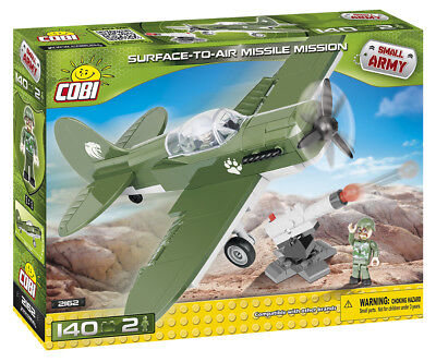 COBI 2162 SMALL ARMY Flugzeug Surface to Air Missile Mission - NEU