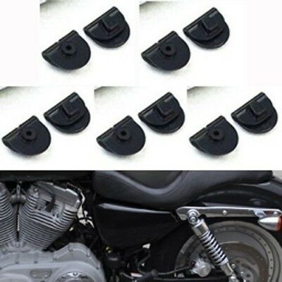 Clips For Harley Sportster XL883 XL1200 48 72 Left Side Battery Cover 2004-2018