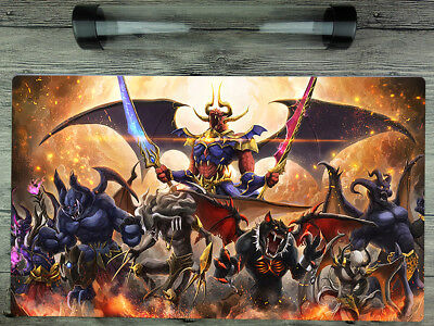 YuGiOh Burning Abyss Cusom Playmat TCG Card Duel Battlefield Mat Free best Tube