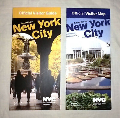 Official new york city nyc visitor tourist map guide july 2017 edition eur 2 10 picclick ie - Tourist office new york city ...