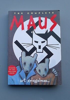 Art Spiegelman THE COMPLETE MAUS (Vol I & II) 2003 WW2 Holocaust graphic novels