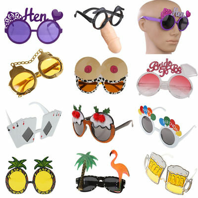 Funny Party Glasses Sunglasses Costume Eyewear Party Hen Stag Night Fancy Dress