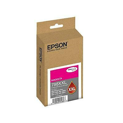 Epson 788XXL DURABrite Ultra Extra High Capacity Magenta Ink Cartridge, 4000 Yie