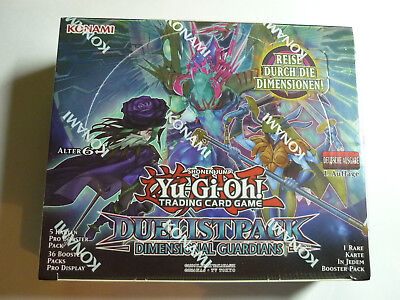 Yu-Gi-Oh!: DIMENSIONAL GUARDIANS Booster Display (Neuware, OVP) Deutsch
