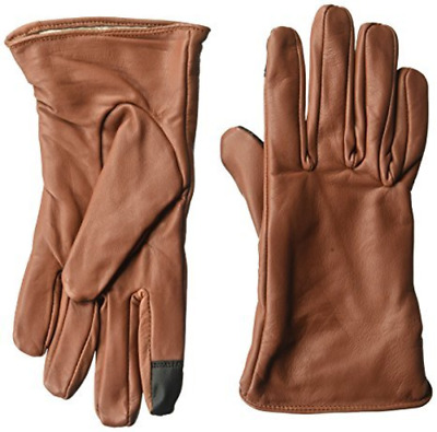 NIP Dwellbee Women's Classic Brown French Morocco Leather Gloves, Many sizes