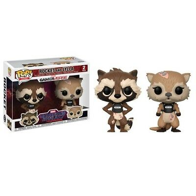 Funko Pop! MARVEL Guardians of The Galaxy: Rocket and Lylla 2-Pack