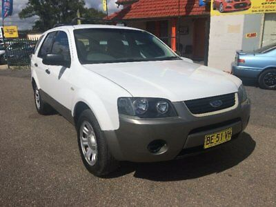 2006 Ford Territory SY TX White Automatic A Wagon