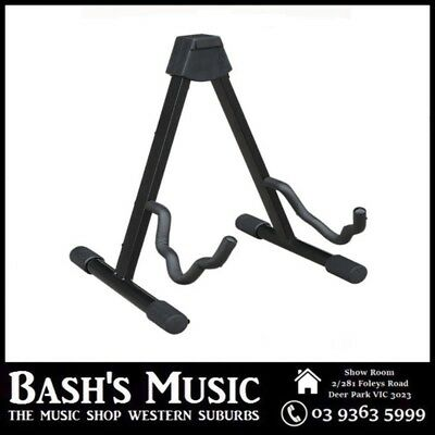 Ashton GSA Guitar Stand Black Electric Acoustic or Classical