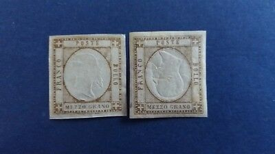 ITALY 1861 Great 1/2g Mint Stamps (1 Inverted Head) as Per Photos CV $3.475.00