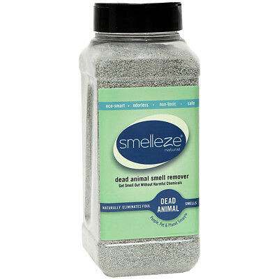 SMELLEZE Dead Animal Deodorizer Granules - 2 lb: Rid Dead Rat & Mice Smell