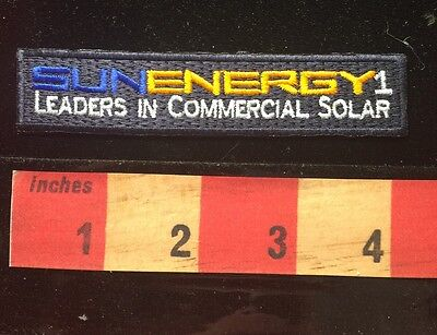 Patch ~ SUN ENERGY 1 Solar Leaders Commercial Solar Manufacturing Bethel NC C64B
