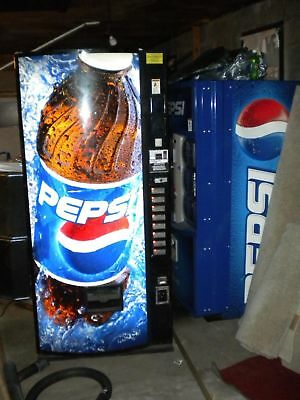 Dixie Narco Soda Vending Machine 600E-9  Refurb 12,16 & 20 oz Made in USA