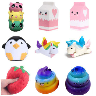 AU Jumbo Slow Rising Squishies Scented Squishy Squeeze Pressure Relief Kids Toys