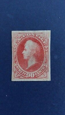 U.S.A Great Colour MH 90 Cents Stamp as Per Photos. CV $3.750.00+. Bargain