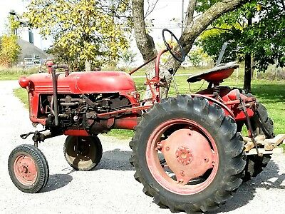 Ih Farmall Cub Tractor 1951/orig. Owner. A True Collector's Item/mint Condition!