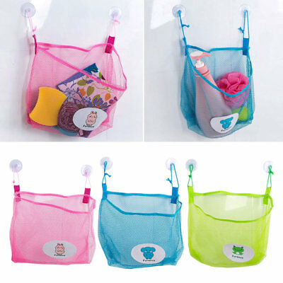 Baby Bath Bathtub Toys Mesh Net Storage Bag Organizer Holder Bathroom Organiser