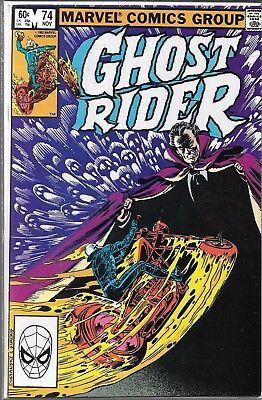 Ghost Rider #74 (Vf/nm) Bronze Age