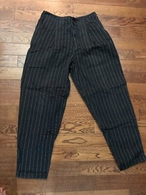Marithe Francois Girbaud/ Closed vintage Pinstripe Hip Hop Baggy Pants - 33.5