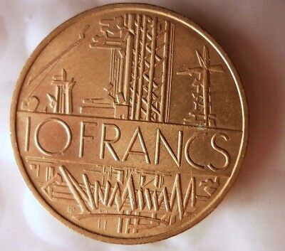 1978 FRANCE 10 FRANCS - Excellent Vintage Coin- FREE SHIPPING - France Bin #13