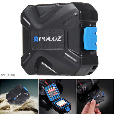 Outdoor Shockproof Water-Resistant Holder Storage Memory Card Case CF XQD TF SD