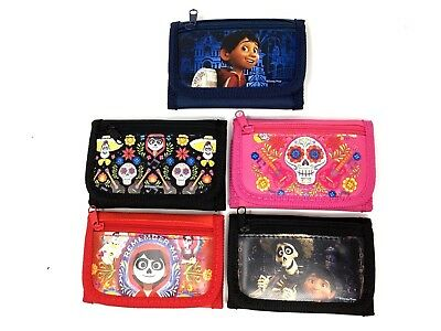 Party Favors Disney Coco 2 Card pockets Trifold Wallet With Stationery Set
