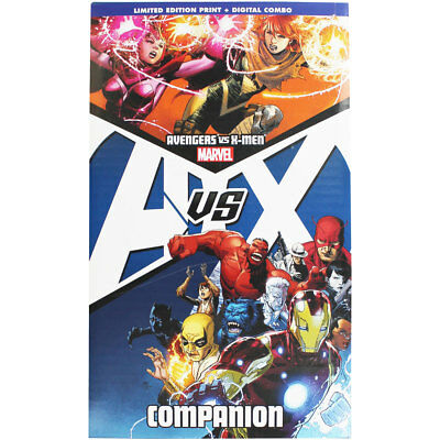 Avengers vs X-Men Companion, Fiction Books, Brand New