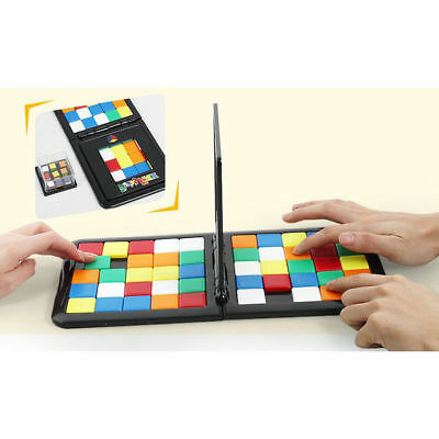 Rubiks Race Board Game The Ultimate Face to Face Strategy Puzzle Toy Gifts NEW