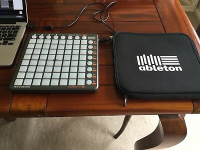 Novation Launchpad S + Carry Case + DJ Techtools Midi Cable USB DJ Controller