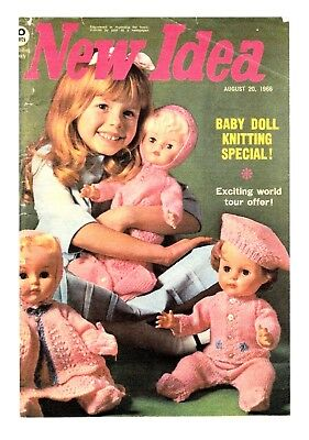 Copy_Knitting Pattern for Dolls Clothes from New Idea 1966  Unsure of Doll Size