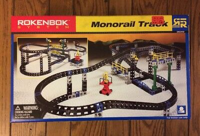 New Rokenbok System Monorail Track #06310 NOS Factory Sealed