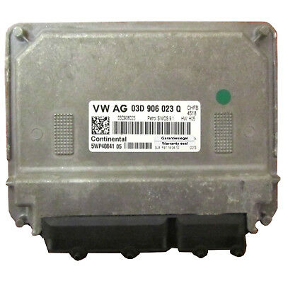 Motorsteuergerät Engine Control Unit ECU VW Fox Polo 1.2 03D906023Q 5WP40841