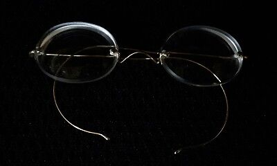 1920s Rimless Gold Arm Spectacles