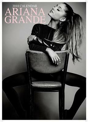 Ariana Grande Uk 2018 Large A3 Wall Calendar New & Sealed By Oc Calendars