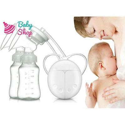 DOUBLE ELECTRIC HAND FREE BREAST PUMP + FREE GIFT, + Same Day Dispatch UK SELLER