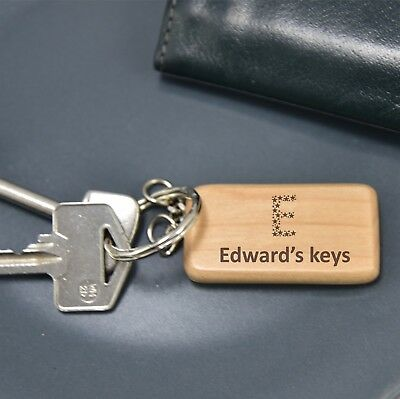 Personalised Mens Women Christmas Gift Name Keyring 60735 Mum Dad Friend Present
