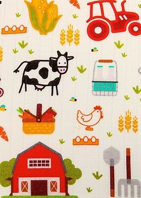 Tula ON THE FARM Cuddle Me Blanket SOLD OUT Adult Size Throw FAST SHIPPING