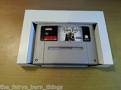 Super Nintendo SNES Cardboard  Box Insert Replacement