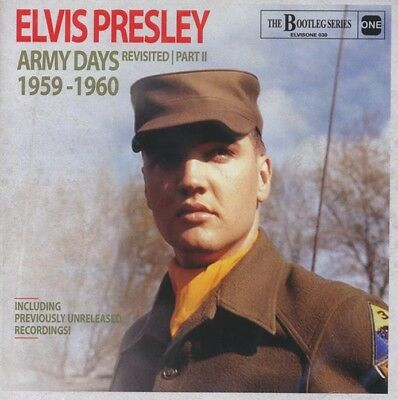 Elvis Collectors CD Elvis Army Days Revisited Part Two
