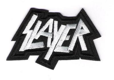 small patch embroidered / petit écusson thermocollant Slayer