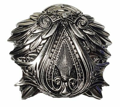 Assassin's Creed Brotherhood EZIO Pewter Finish Belt Buckle (Fantastic Quality!)