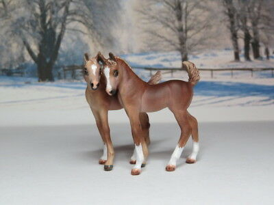 Custom CM Breyer Stablemate G3 Foal Set of 2 x L. Elkjer +++WOW+++