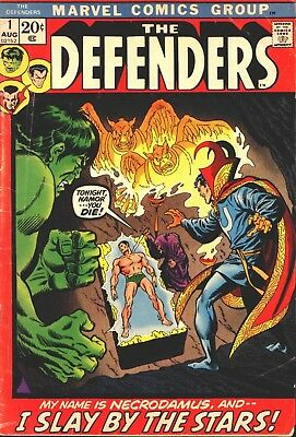 Marvel The Defenders Vol 1 Complete Digital Collection