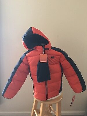 4c631a4be HAWKE AND CO Outfitter Branson Hooded Puffer Jacket with Hat size 5 ...