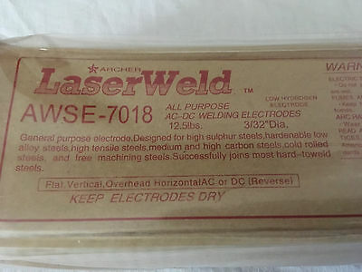 E7018 3/32 dia 12.5 lbs NEW AC-DC welding electrodes, Rods. 12.5# for 10# price